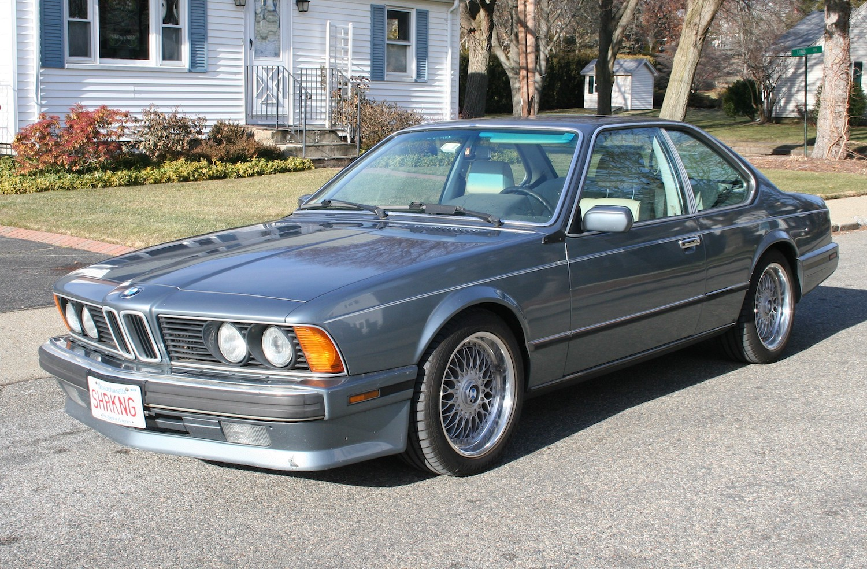 1988 bmw 635csi front three-quarter