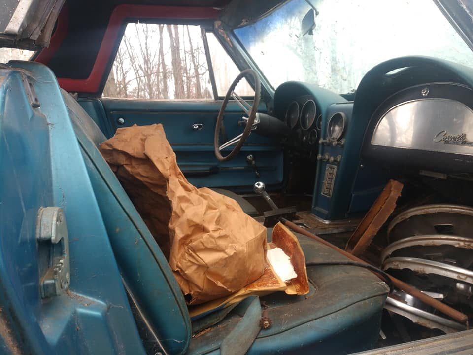 1965 numbers matching fuel injection 4 speed corvette interior