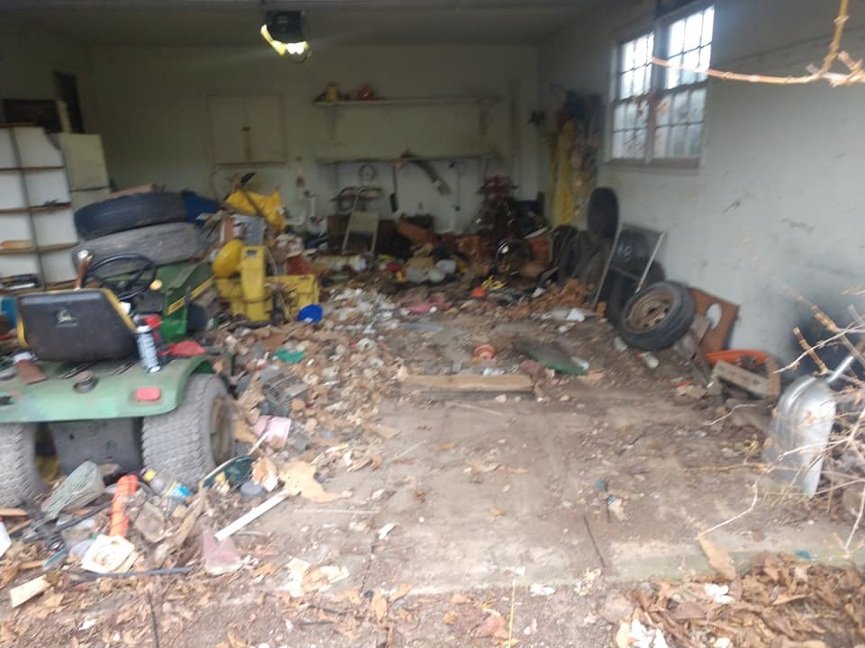 garage emptied out