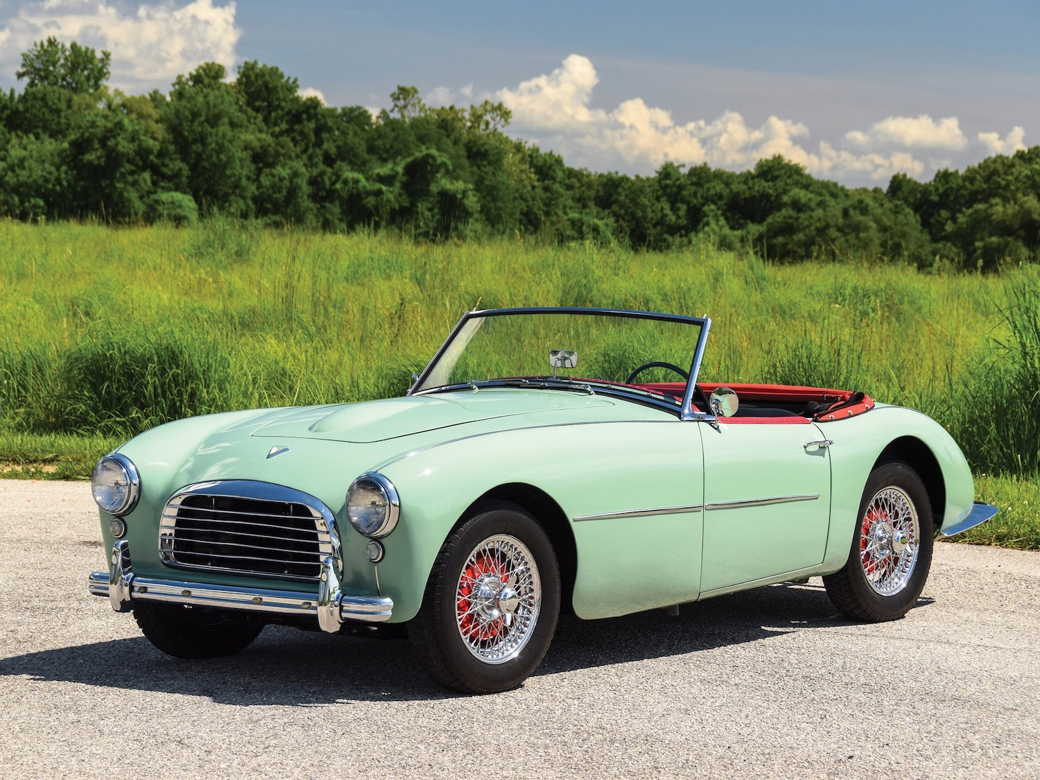 1955 swallow doretti roadster front three-quarter