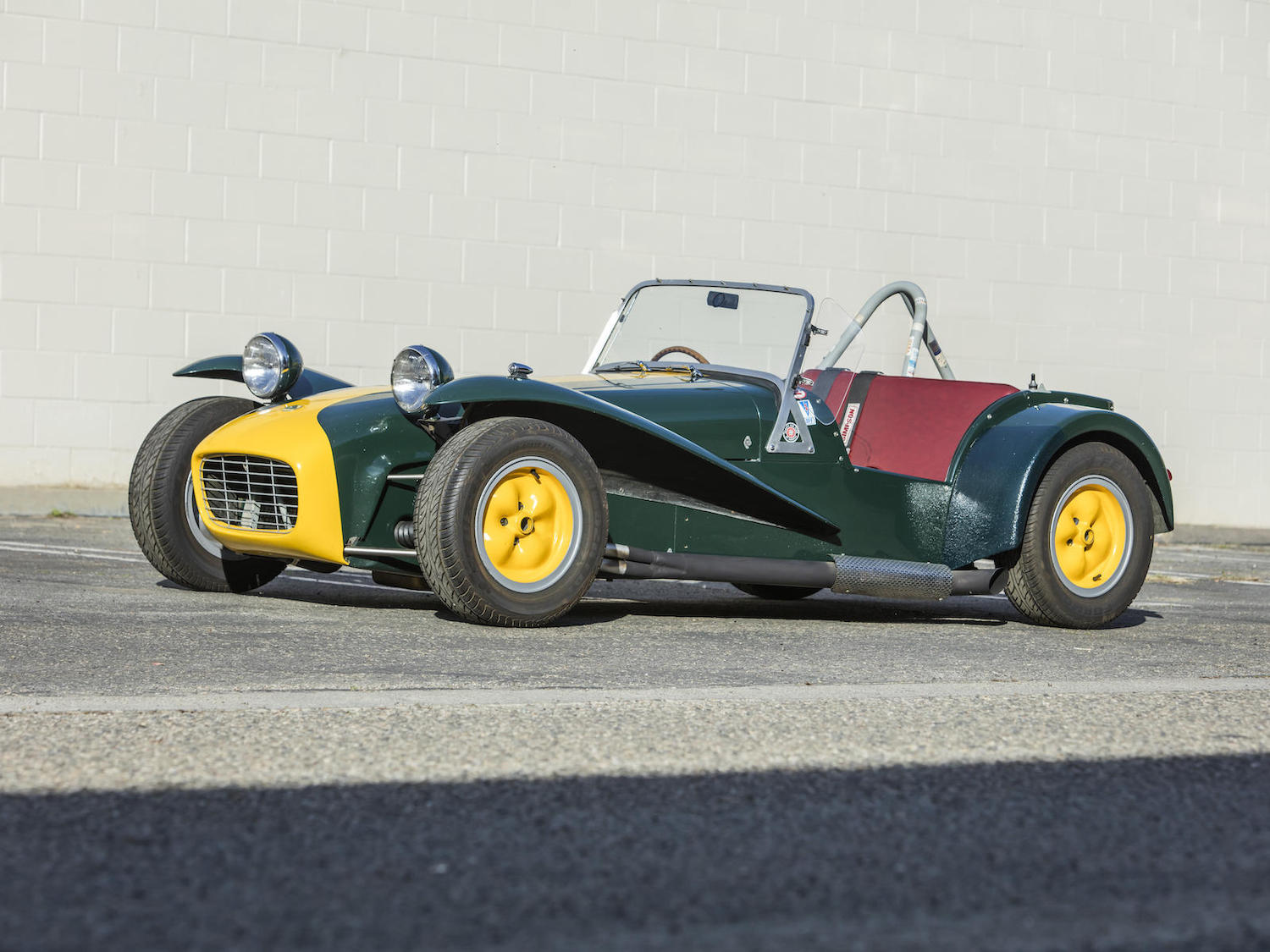 1965 Lotus super seven s2 front three-quarter