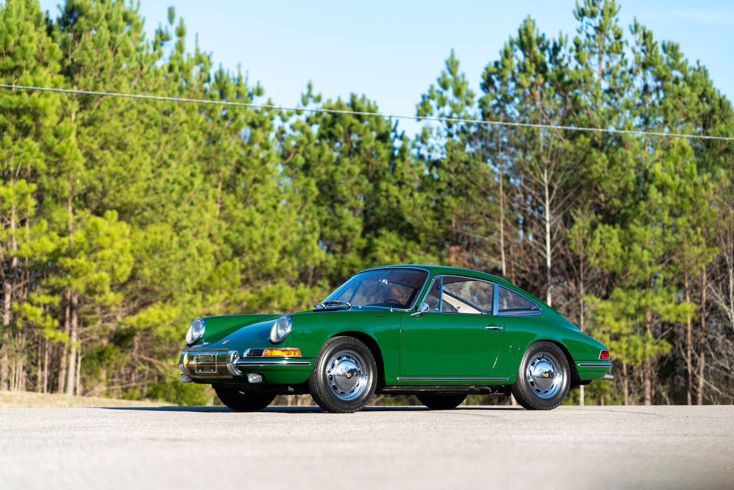 1966 porsche 911 front three-quarter