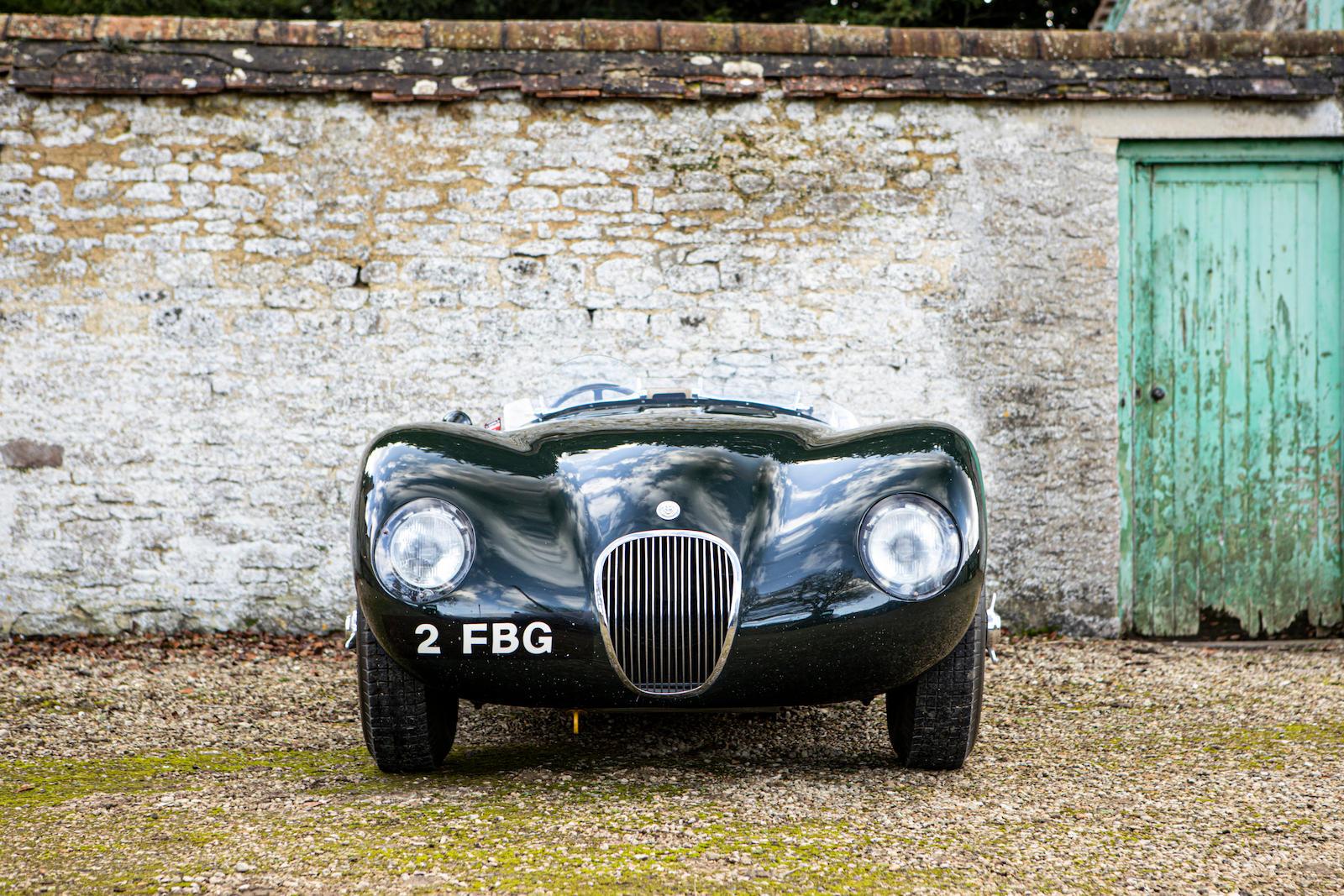 1952 Jaguar XK120 C-Type front