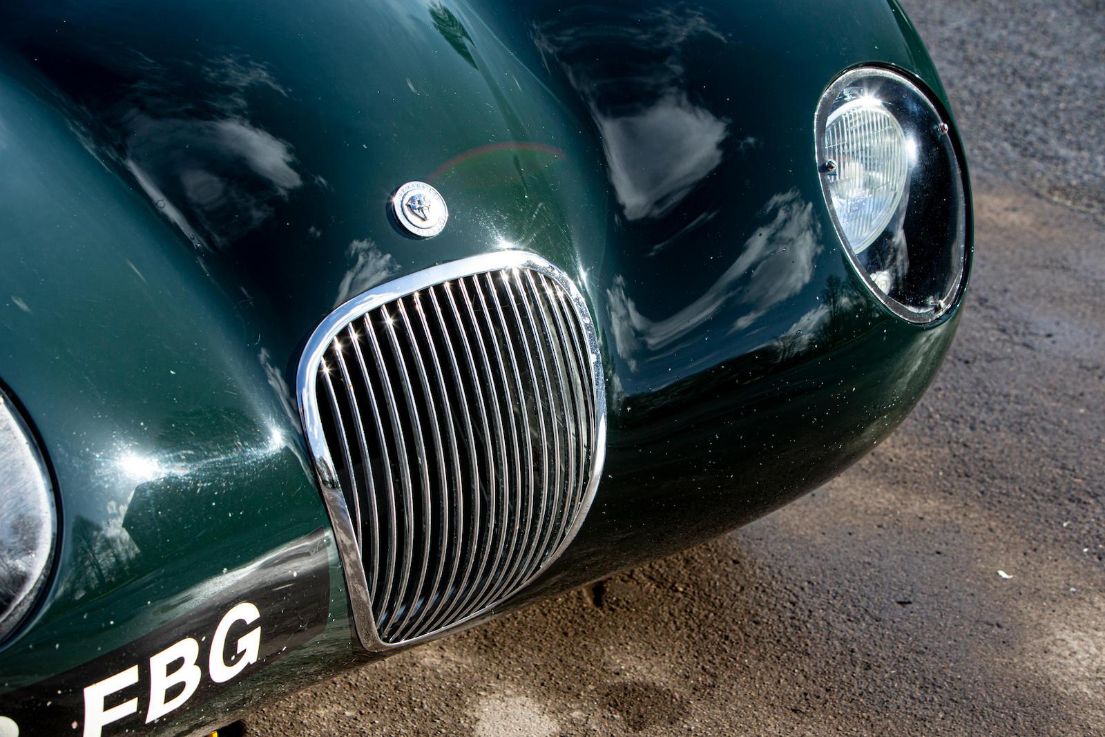 1952 Jaguar XK120 C-Type front detail