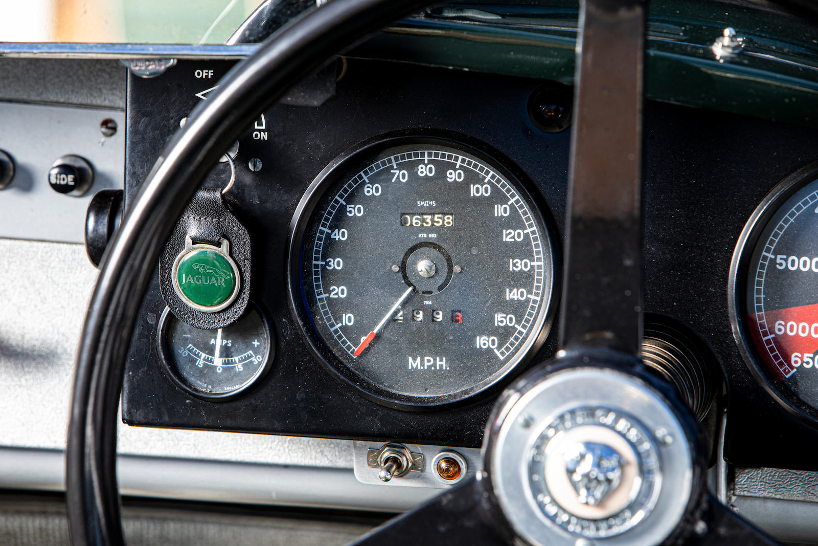 1952 Jaguar XK120 C-Type speedometer