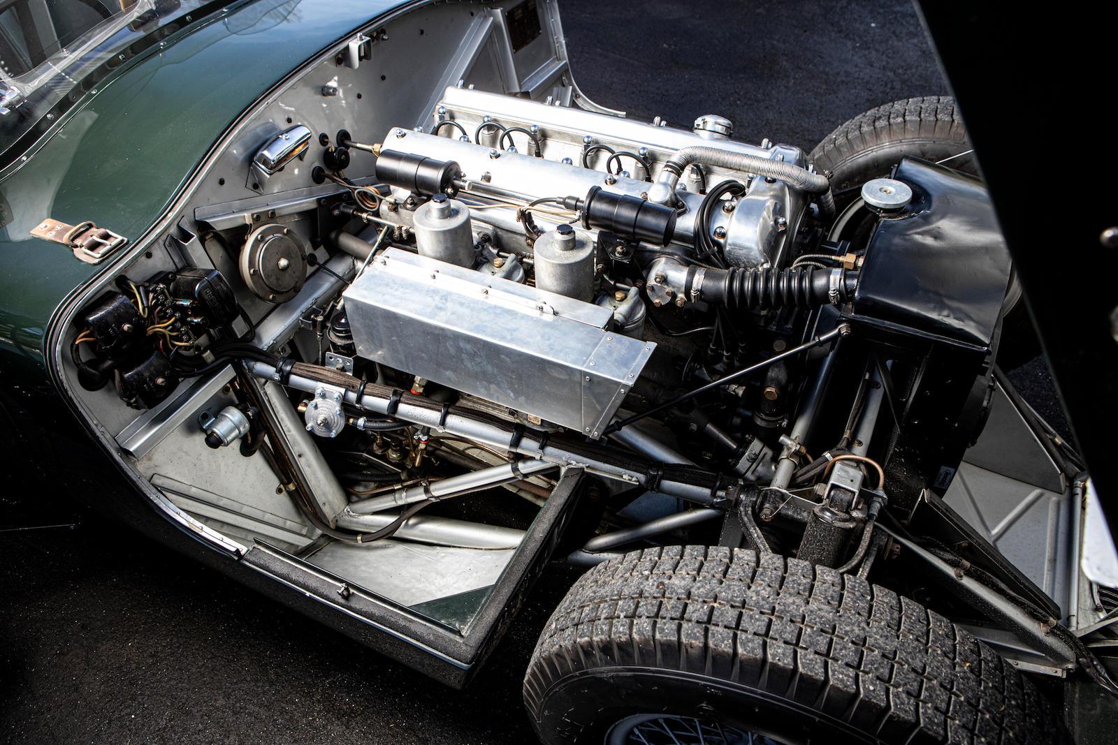 1952 Jaguar XK120 C-Type engine