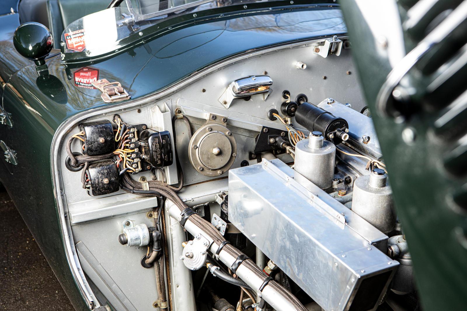 1952 Jaguar XK120 C-Type engine bay