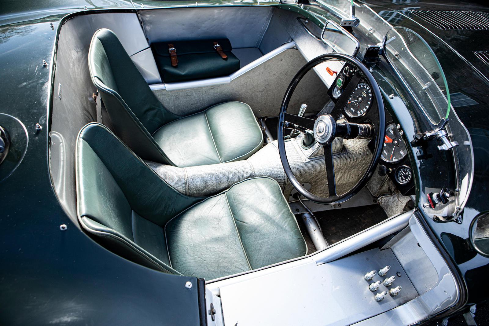 1952 Jaguar XK120 C-Type seats