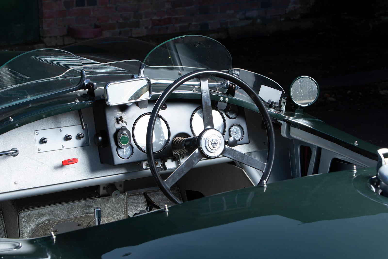 1952 Jaguar XK120 C-Type front dash