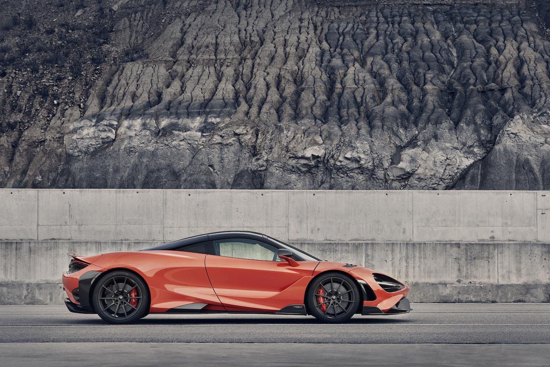 McLaren 765LT supercar side-view