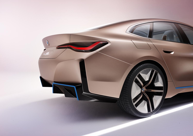 2021 BMW Concept i4 rear