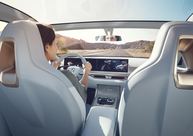 2021 BMW Concept i4 interior