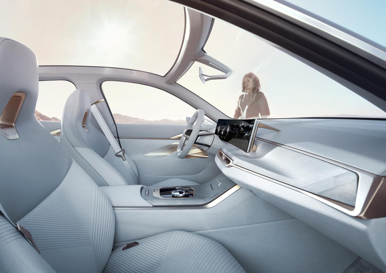 2021 BMW Concept i4 interior side-view