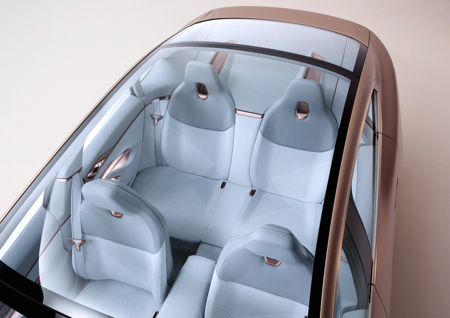 2021 BMW Concept i4 overhead roof glass