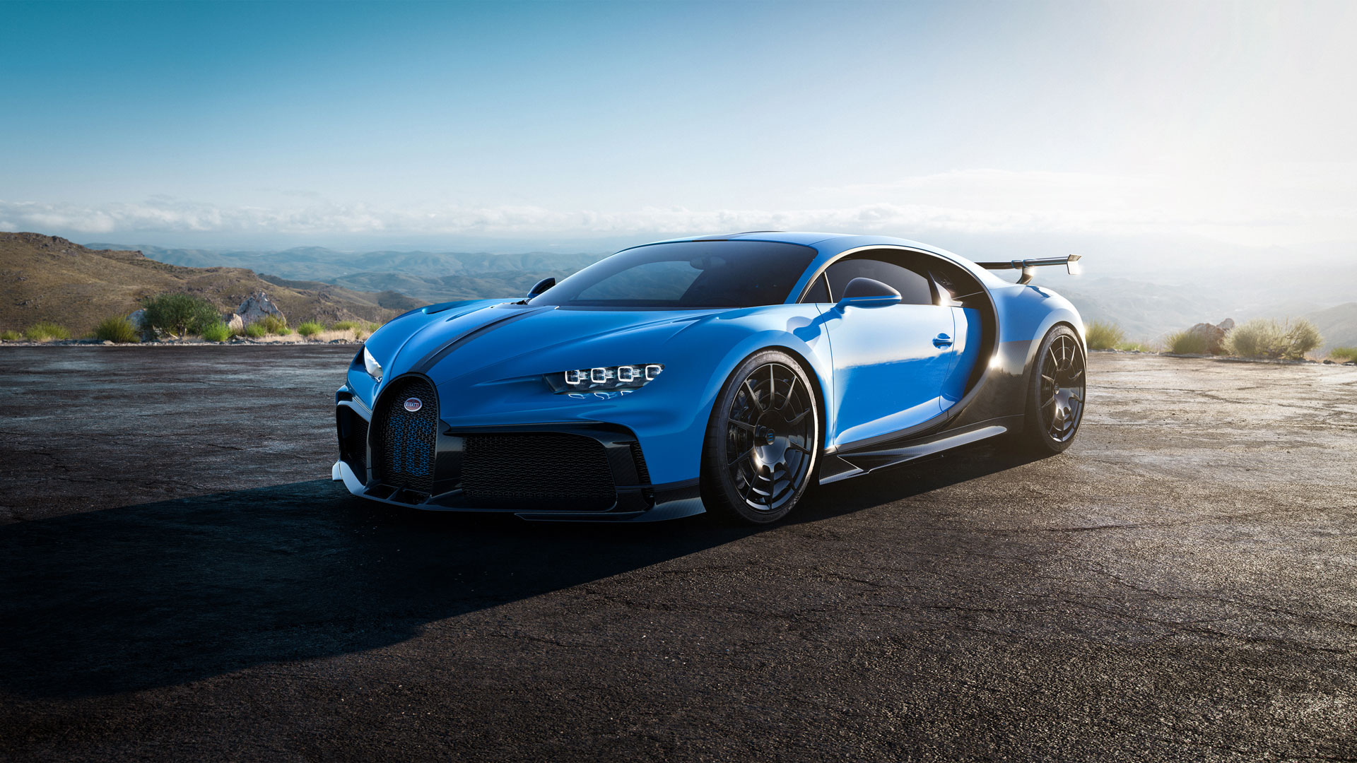 Bugatti unveils $3.5M Chiron Pur Sport hypercar—with a six-foot wing thumbnail