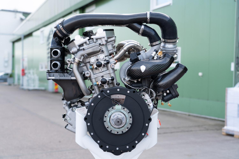 Koenigsegg gemera engine