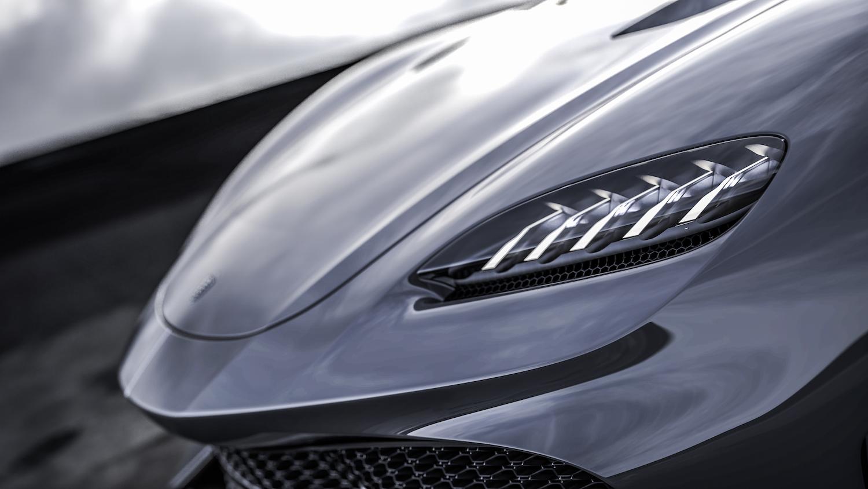 Koenigsegg gemera front side-view closeup