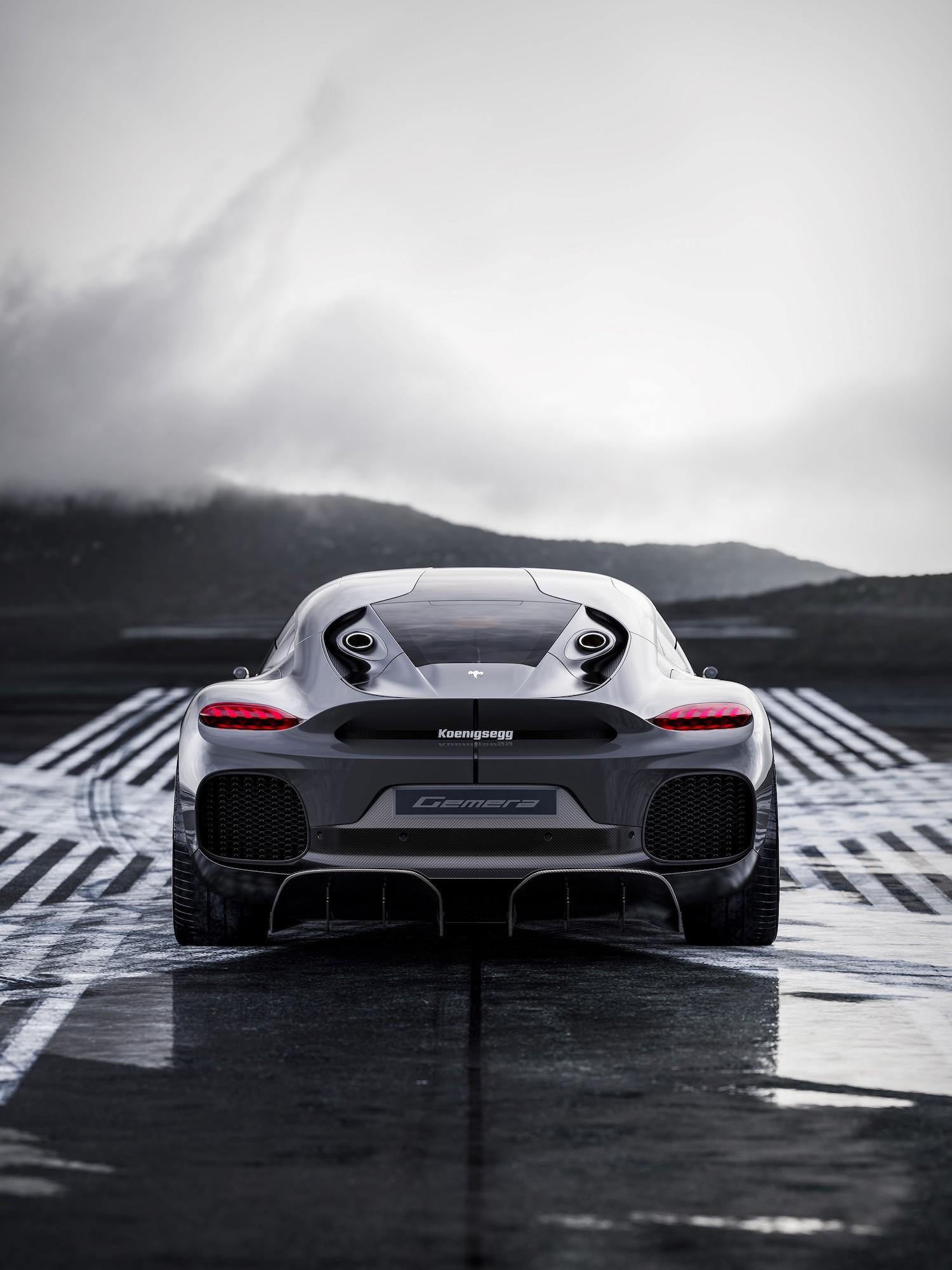 Koenigsegg gemera rear