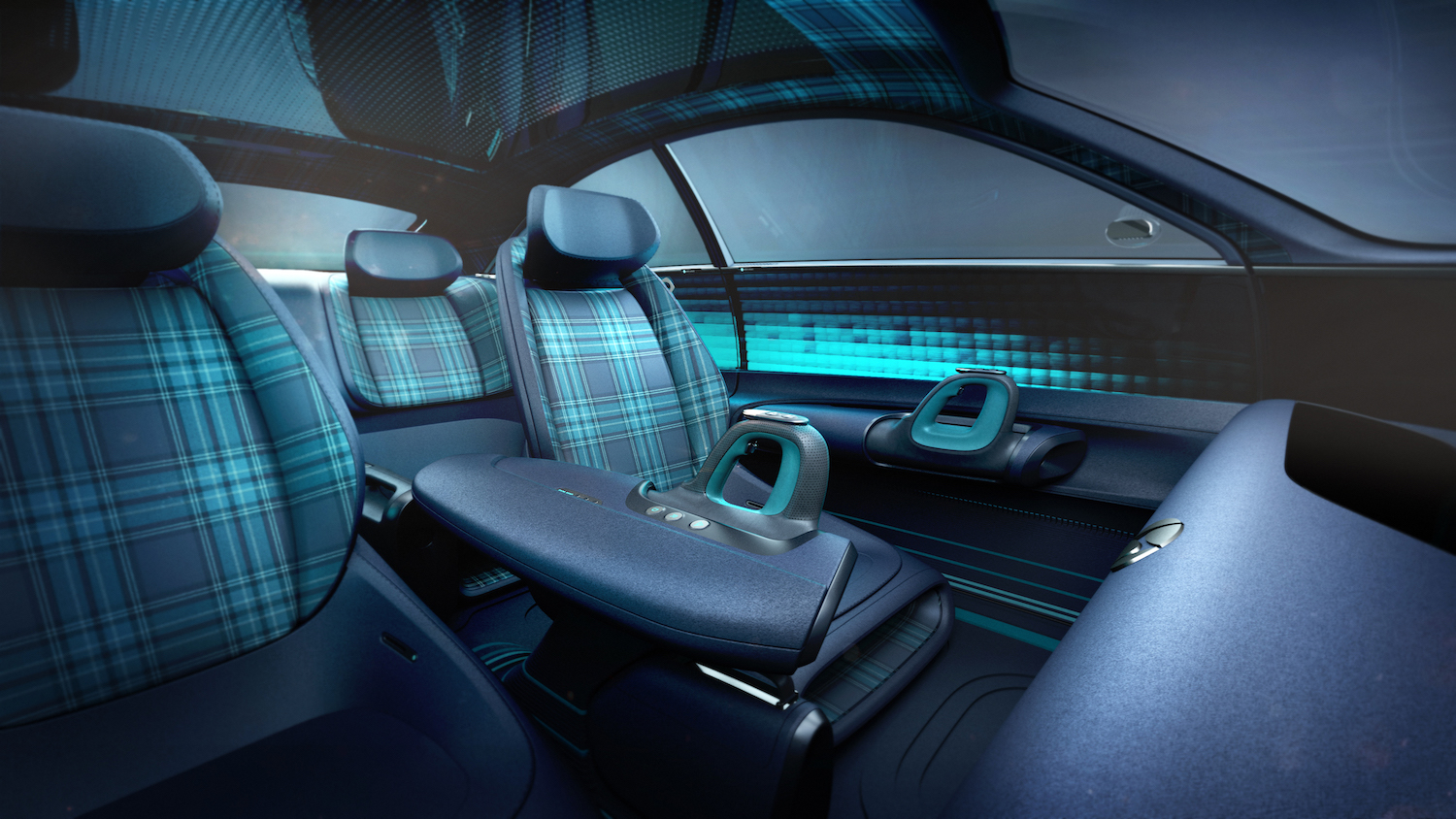 Hyundai Prophecy Concept EV interior rear facing
