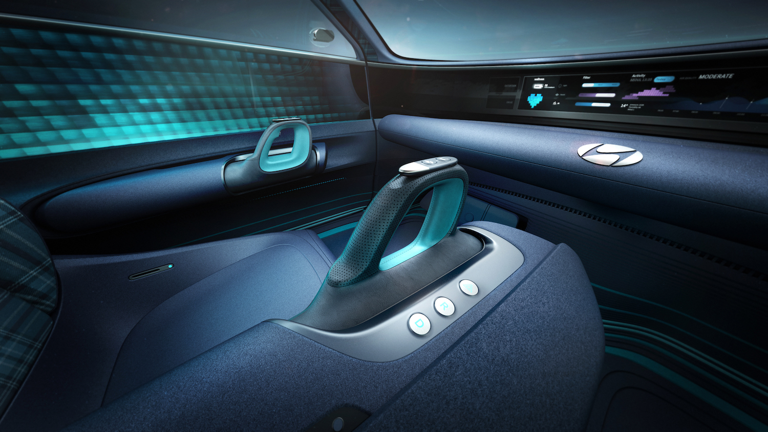 Hyundai Prophecy Concept EV interior center console