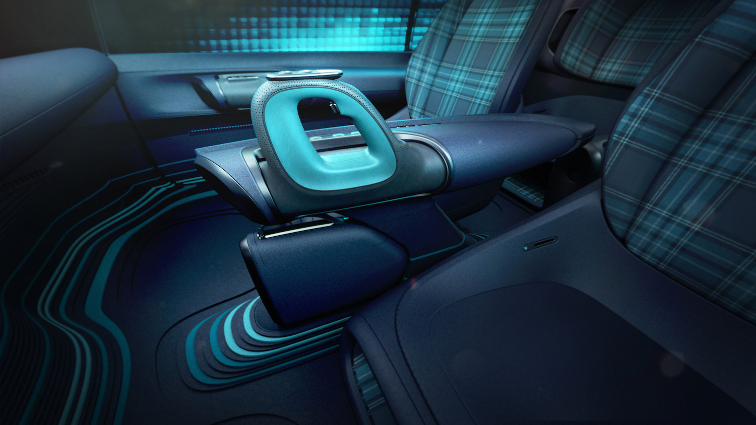 Hyundai Prophecy Concept EV center console