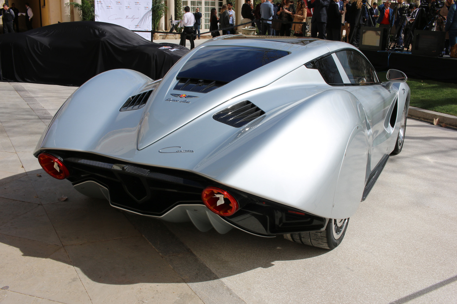 Hispano Suiza rear three-quarter