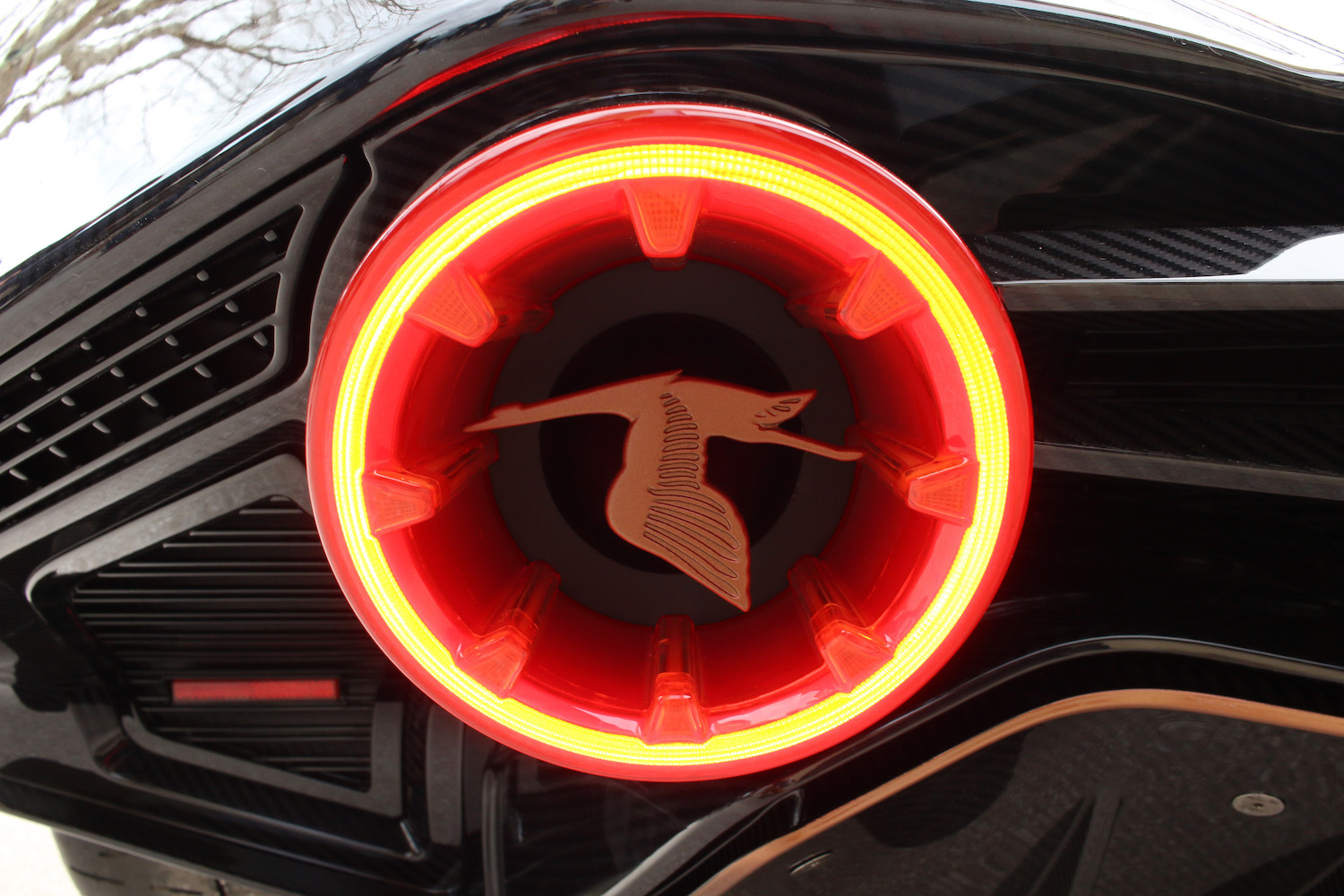 Hispano Suiza taillight closeup