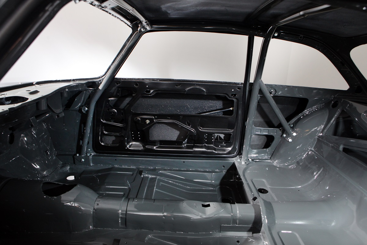 carbon body shell interior exposed