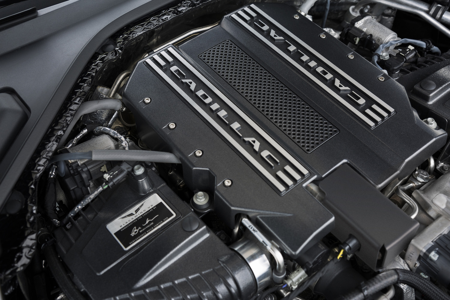 blackwing v8 engine closeup