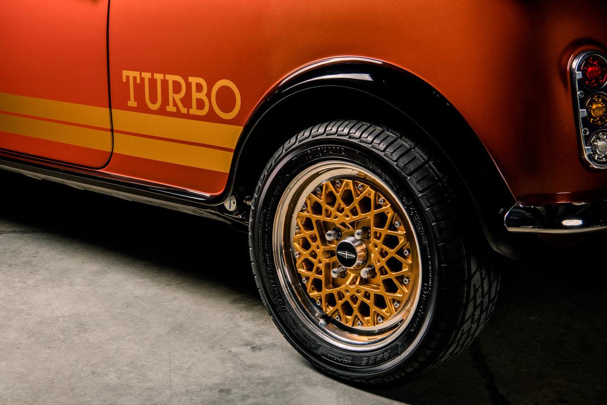 david brown remastered mini inspired by bond lotus esprit turbo wheel closeup