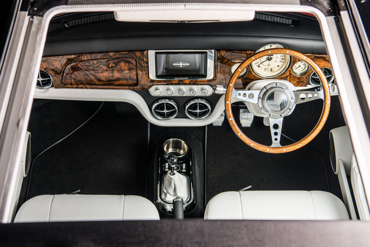 david brown remastered mini inspired by bond lotus esprit turbo front interior