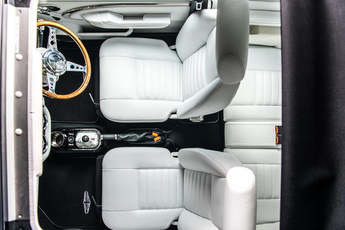 david brown remastered mini inspired by bond lotus esprit turbo interior overhead