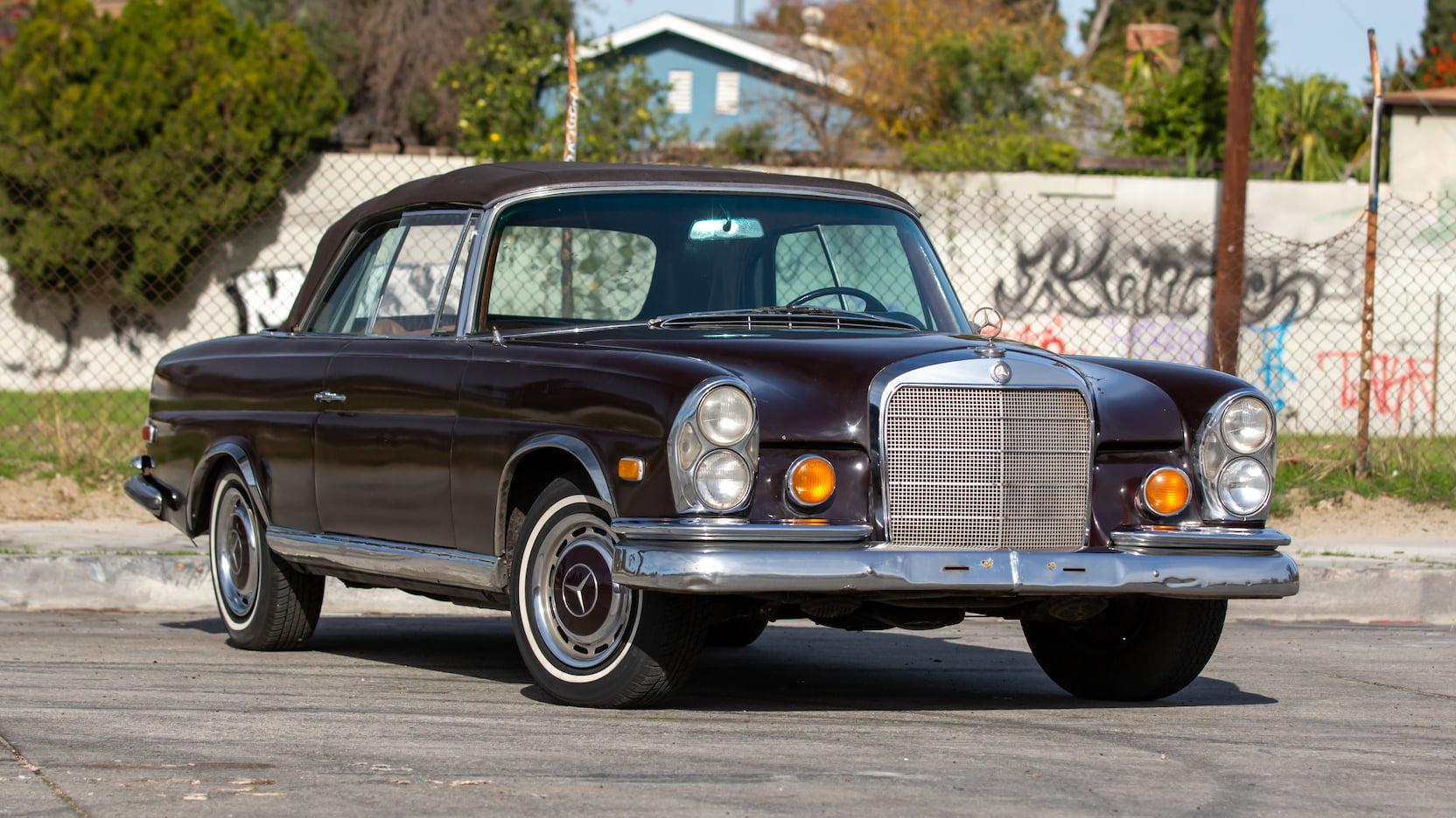 1969 Mercedes-Benz 280SE convertible