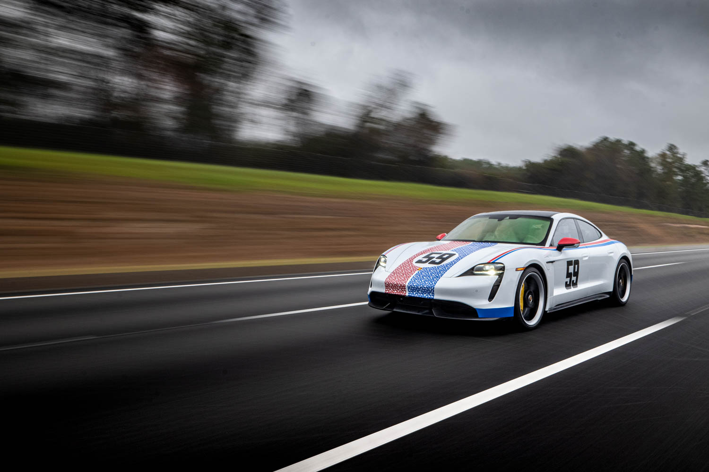 Porsche Taycan road trip to Amelia Island