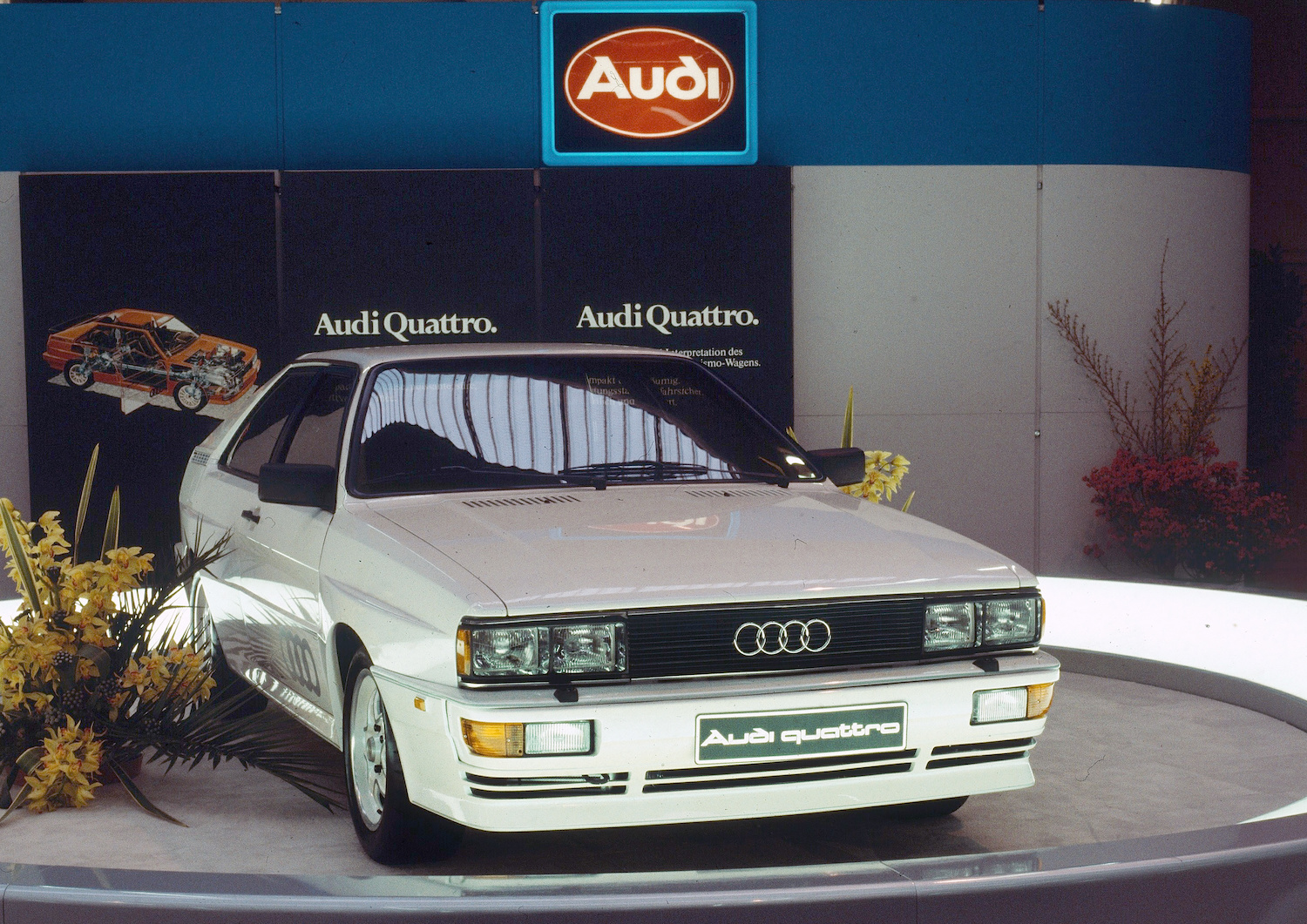 The 1981–91 Audi Ur-Quattro is an inverse Porsche 911 Turbo thumbnail