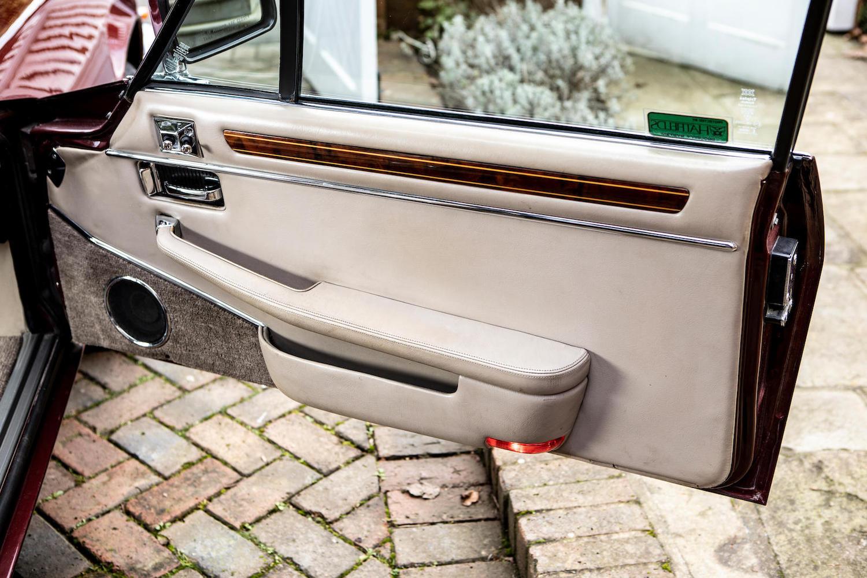 1986 Jaguar XJ-S TWR V12 HE 6.1-Litre Lynx Eventer Sports Estate door panel