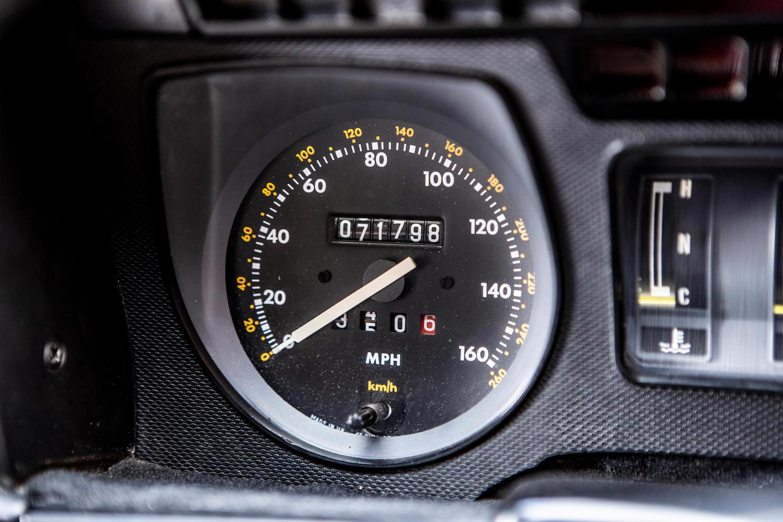 1986 Jaguar XJ-S TWR V12 HE 6.1-Litre Lynx Eventer Sports Estate speedometer