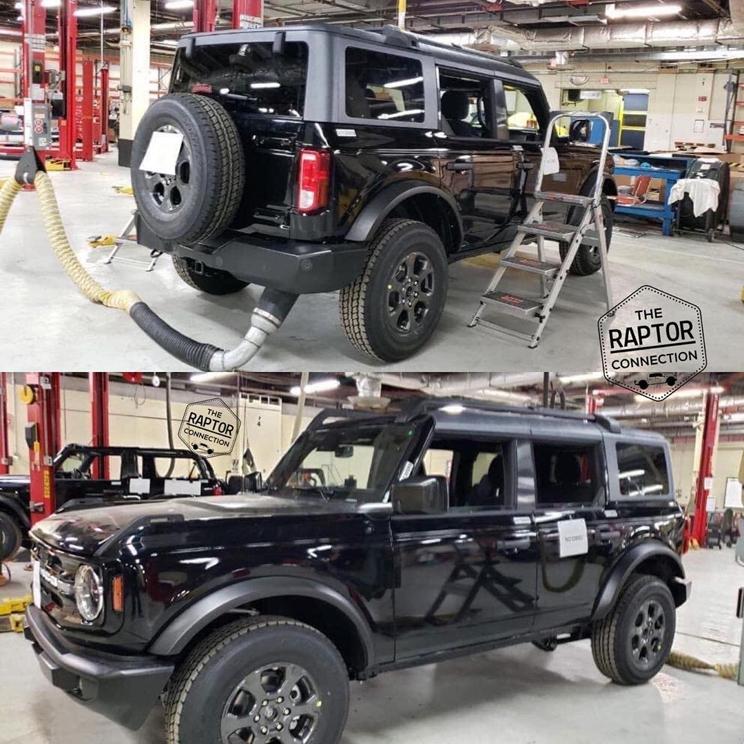 Ford Bronco Leak