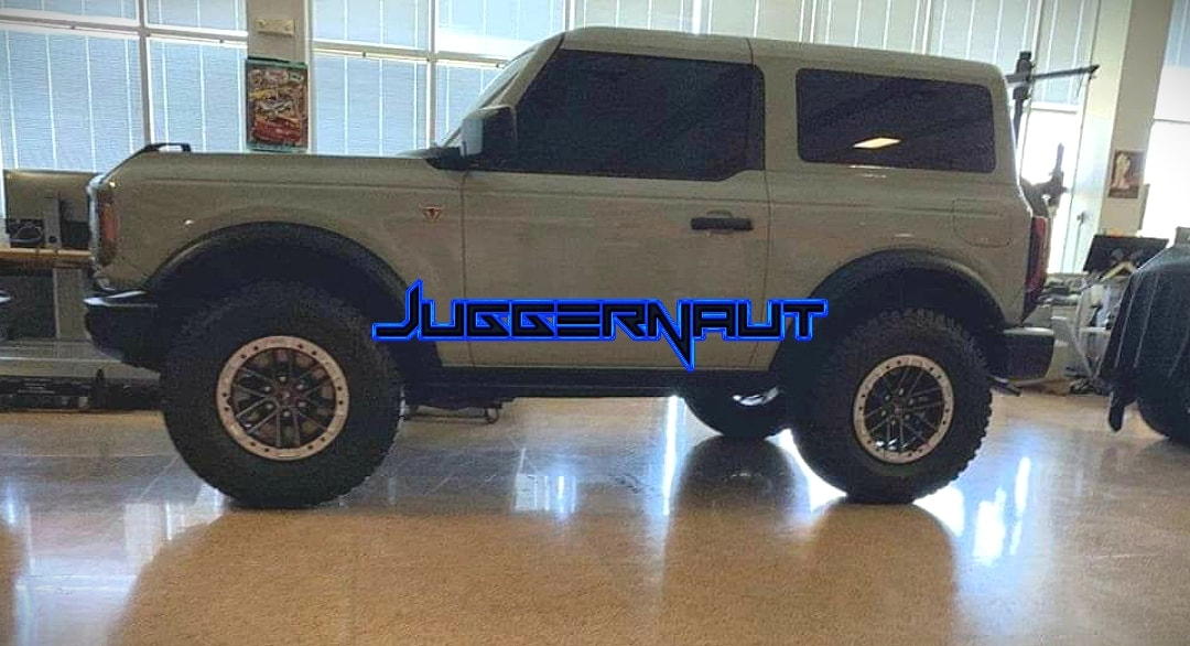 Ford Bronco leak