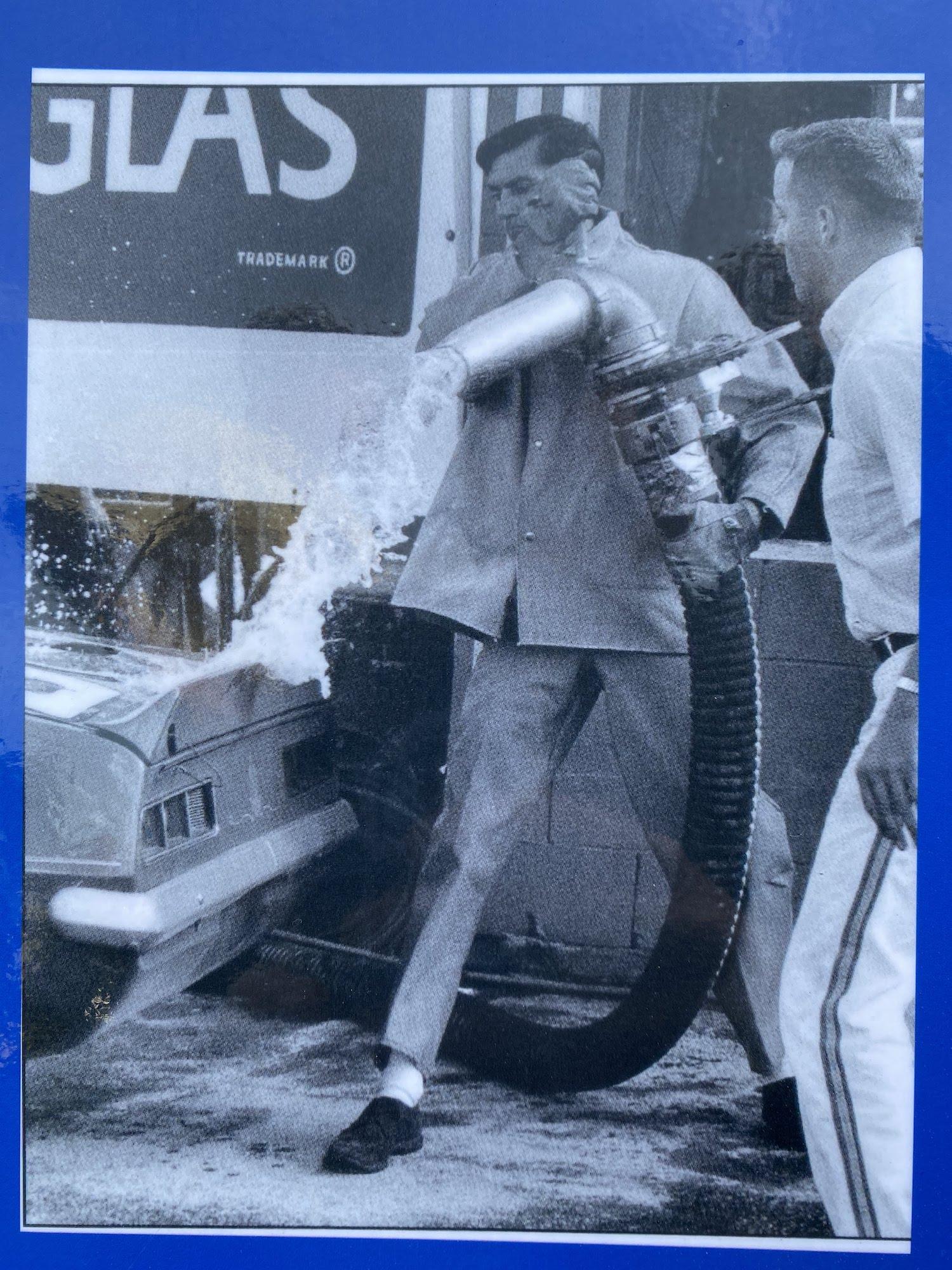 penske pump spills gasoline