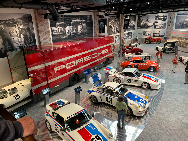 The Brumos Racing display.
