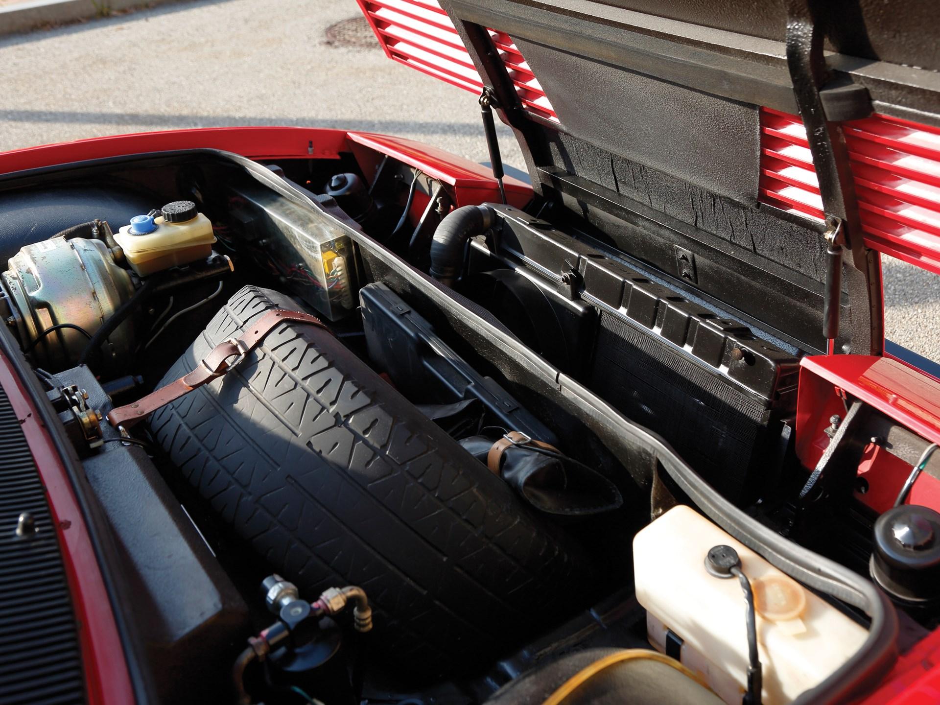 classic ferrari supercar frunk