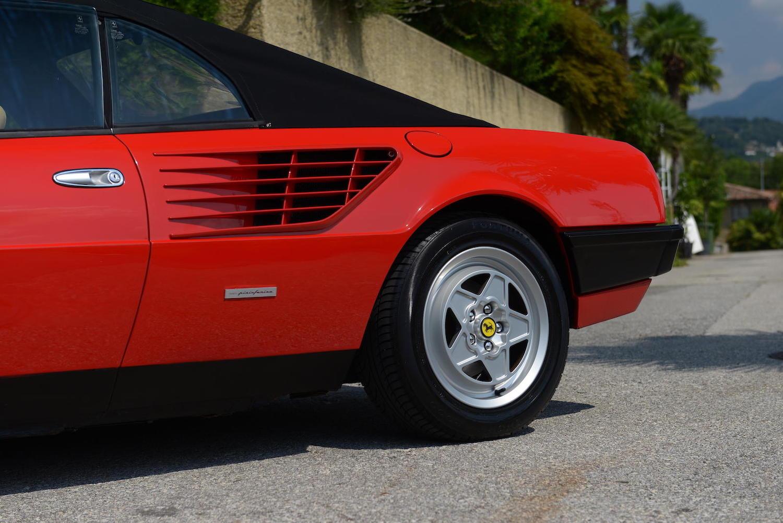 ferrari supercar rear quarter panel