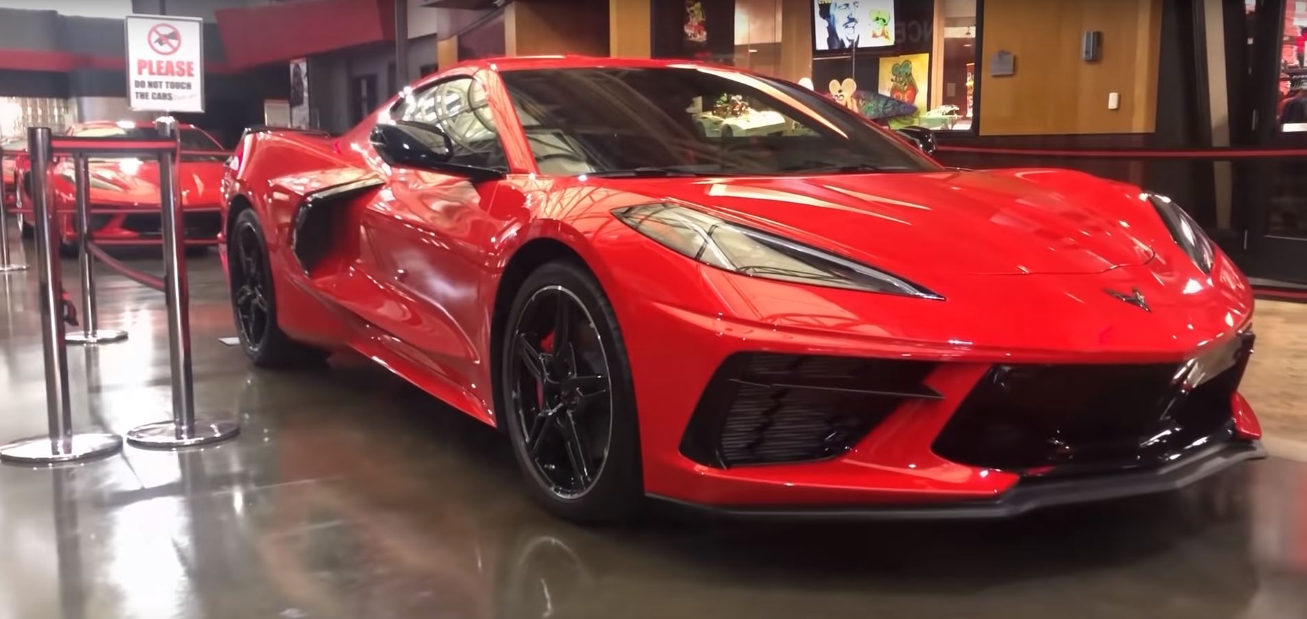 Watch the first C8 Corvette delivery at the National Corvette Museum  thumbnail