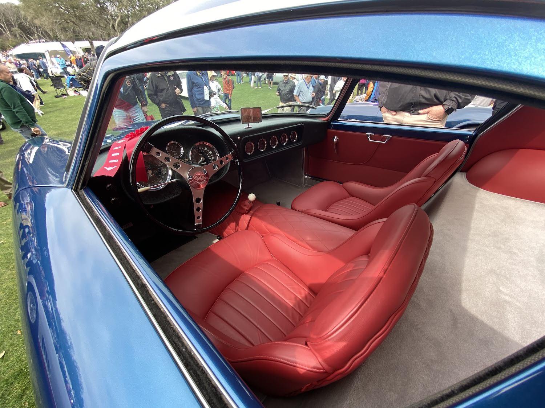 scaglietti corvette interior