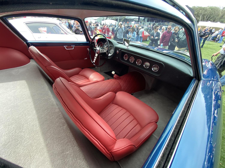 scaglietti corvette front interior