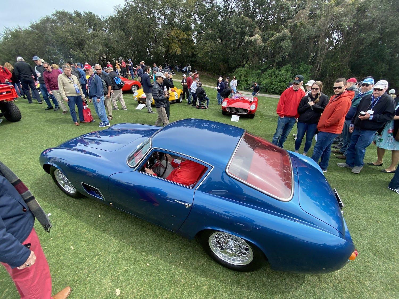scaglietti corvette rear three-quarter