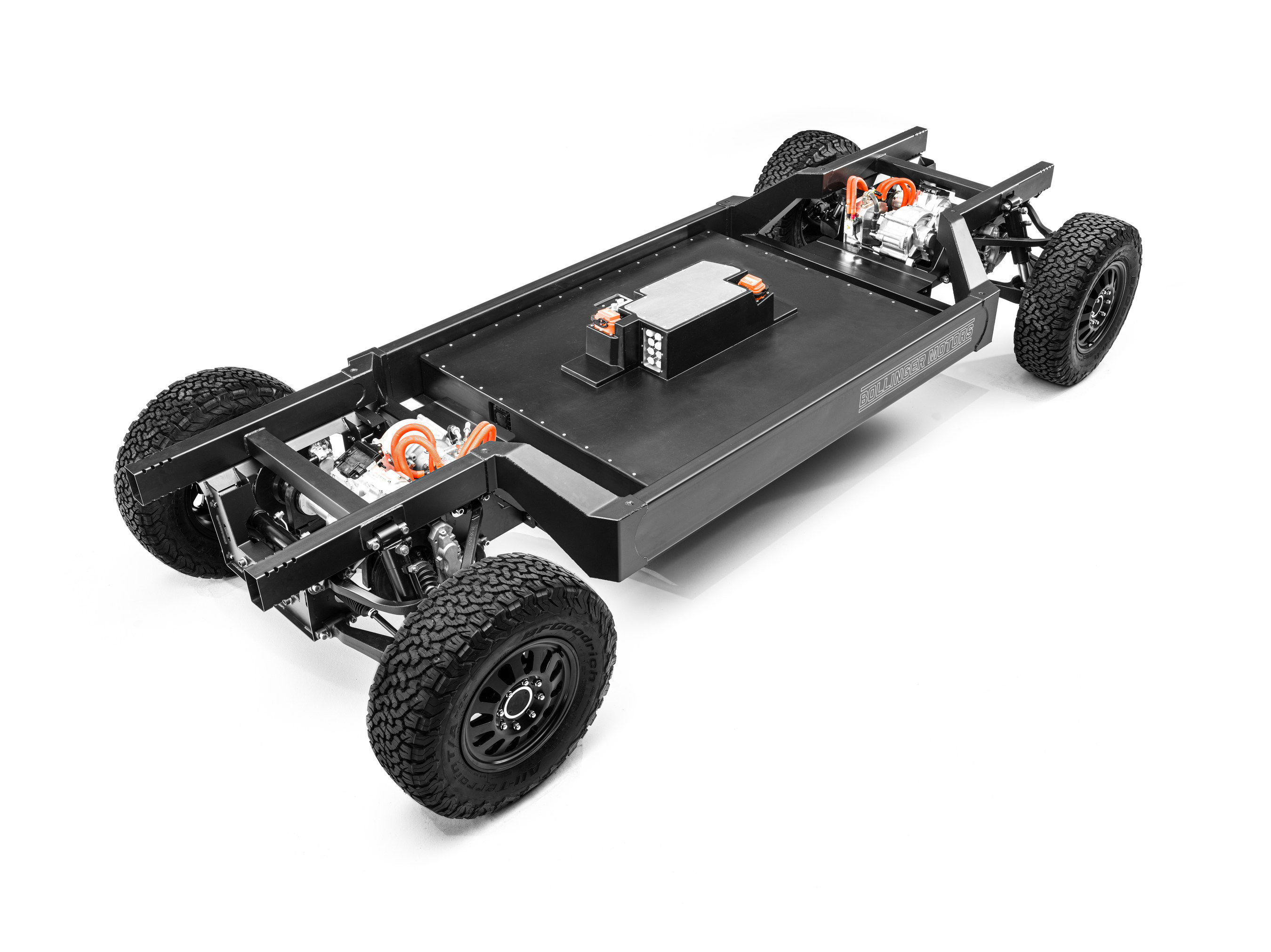 This is Bollinger Motors' patent-pending 180 kWh EV chassis thumbnail