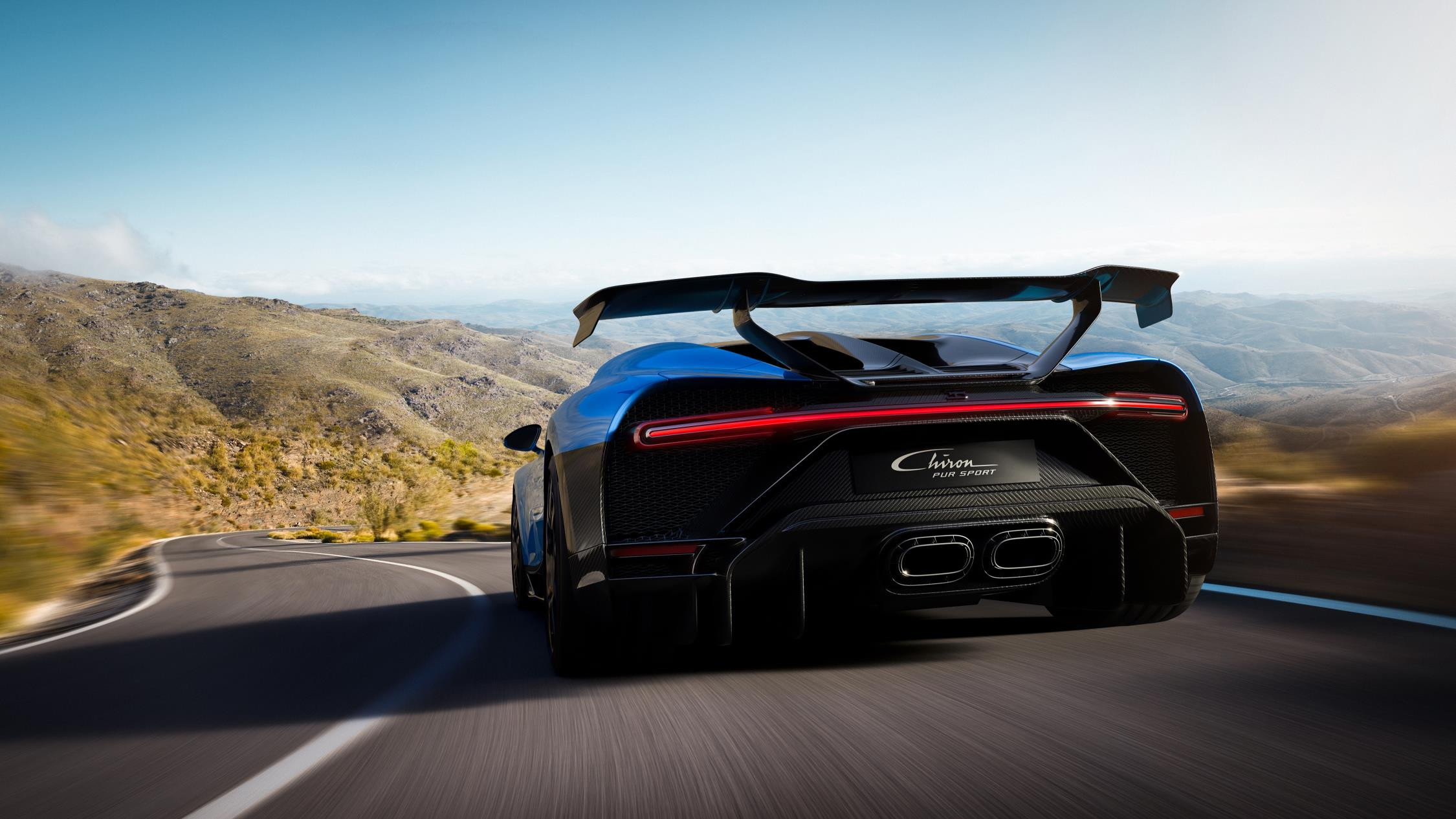 Bugatti claims the Chiron Pur Sport does 0–62 mph in 2.3 seconds thumbnail