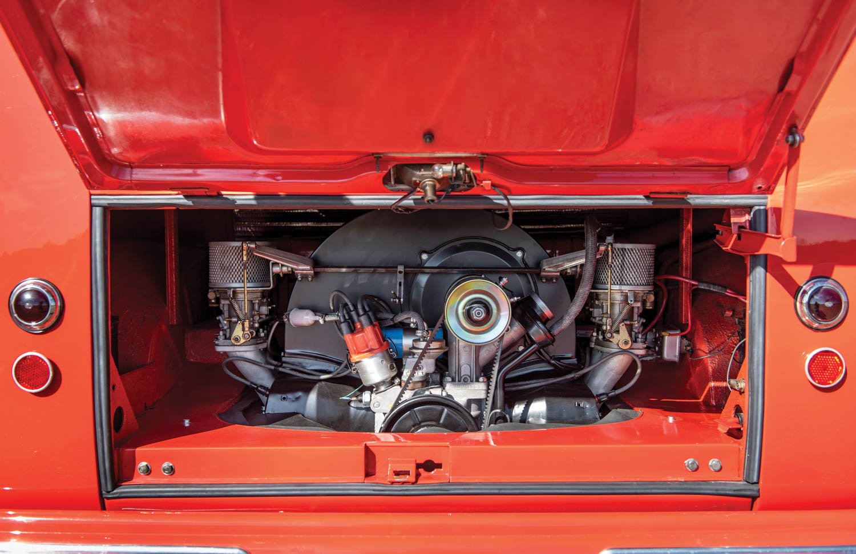 1956 Volkswagen Deluxe '23-Window' Microbus
